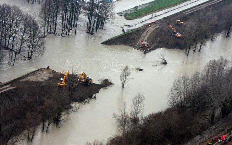 Alluvione: Insufficiente il provvedimento del governo