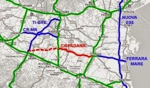 Autostrada Cispadana: L'osservazione del Prc al ministero dell'ambiente
