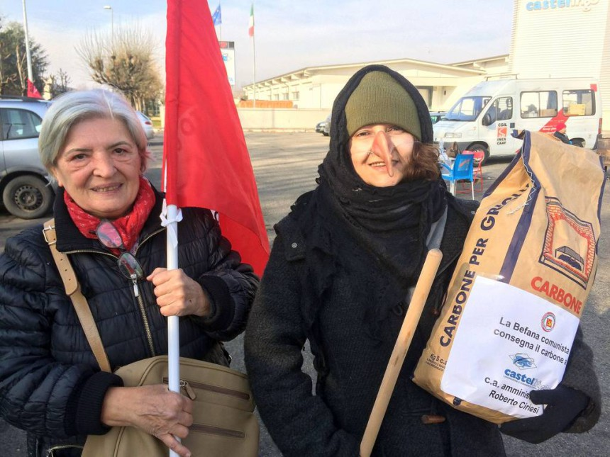 La befana Comunista e Angela Bellei