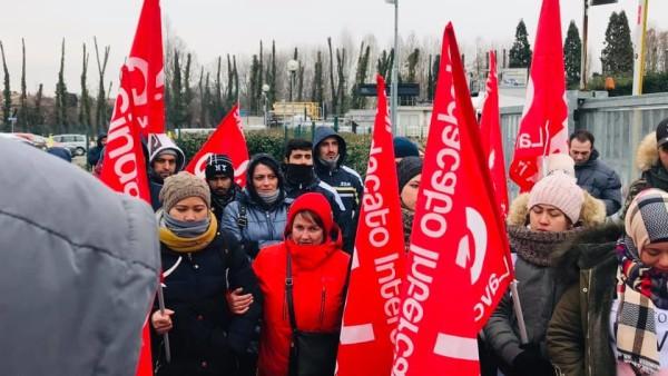 PRC sabato 9 febbraio al corteo di solidarietà con la lotta alla Italpizza