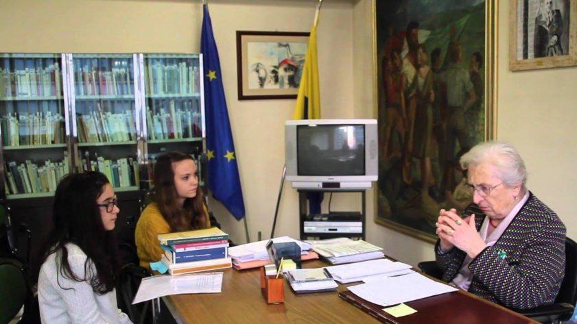 Aude Pacchioni e Studentesse
